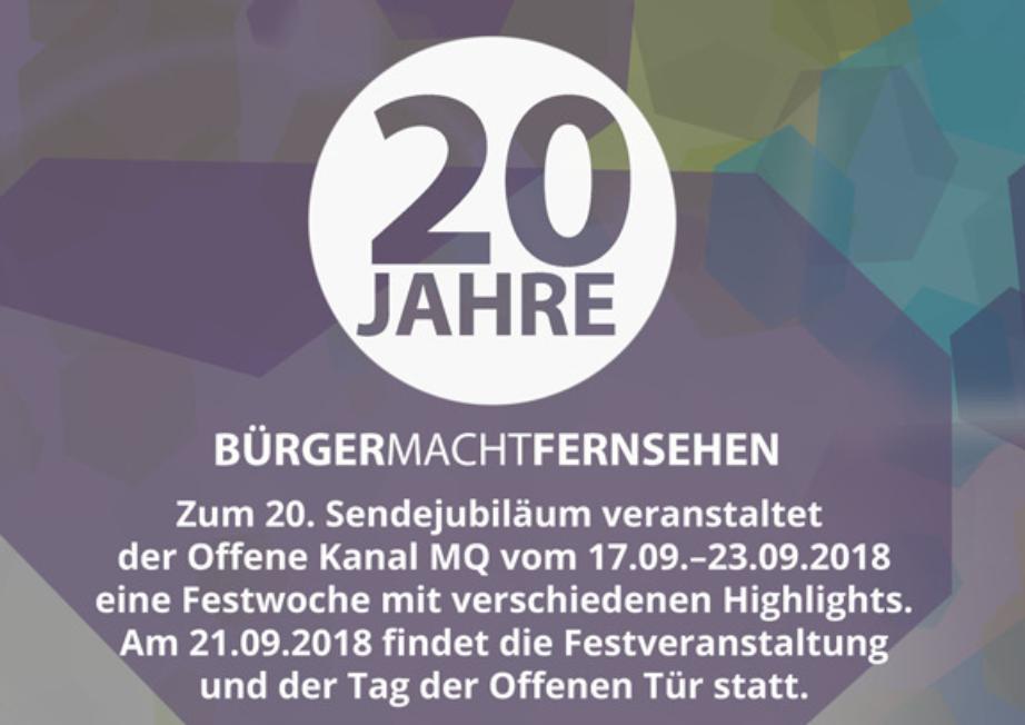 Offener Kanal Merseburg-Querfurt feiert 20-jähriges Jubiläum