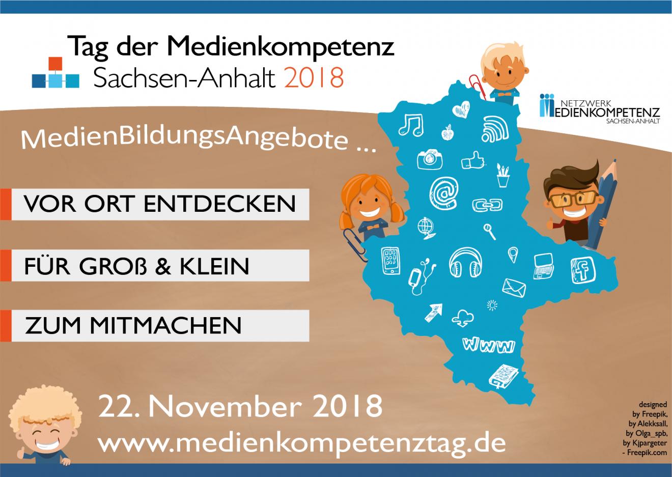 Dritter landesweiter Tag der Medienkompetenz Sachsen-Anhalt