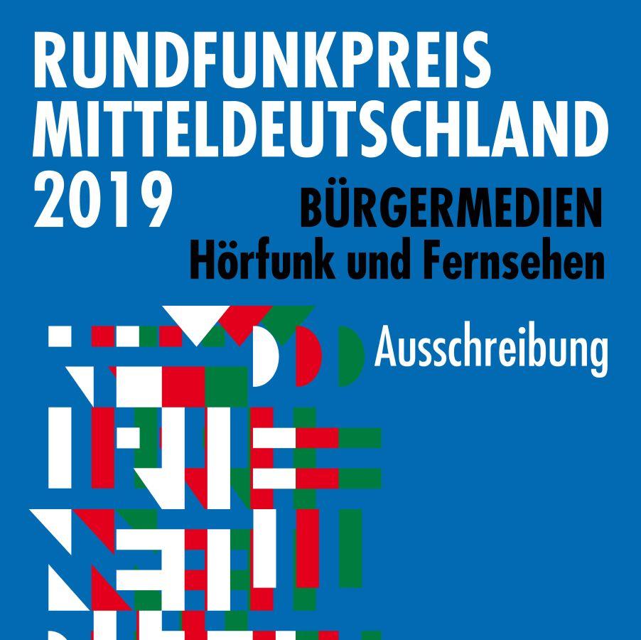 Rundfunkpreis Mitteldeutschland 2019 ausgeschrieben