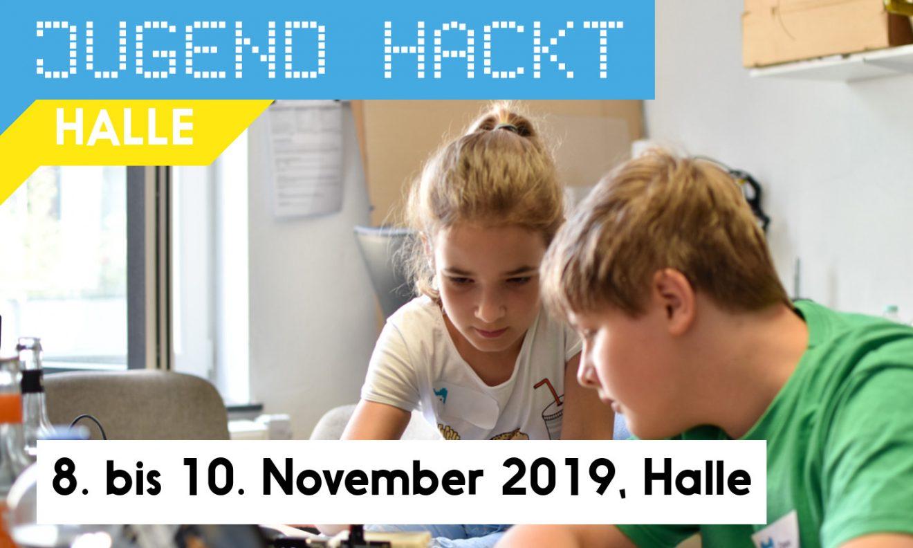 Jugend hackt in Halle 2019