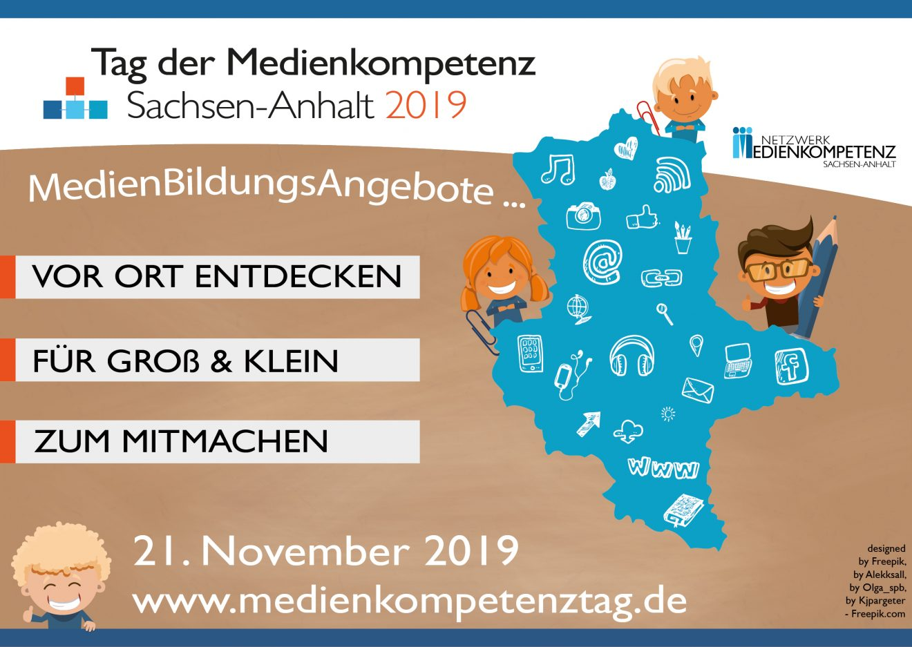 4. TAG DER MEDIENKOMPETENZ SACHSEN-ANHALT // 21. NOVEMBER 2019