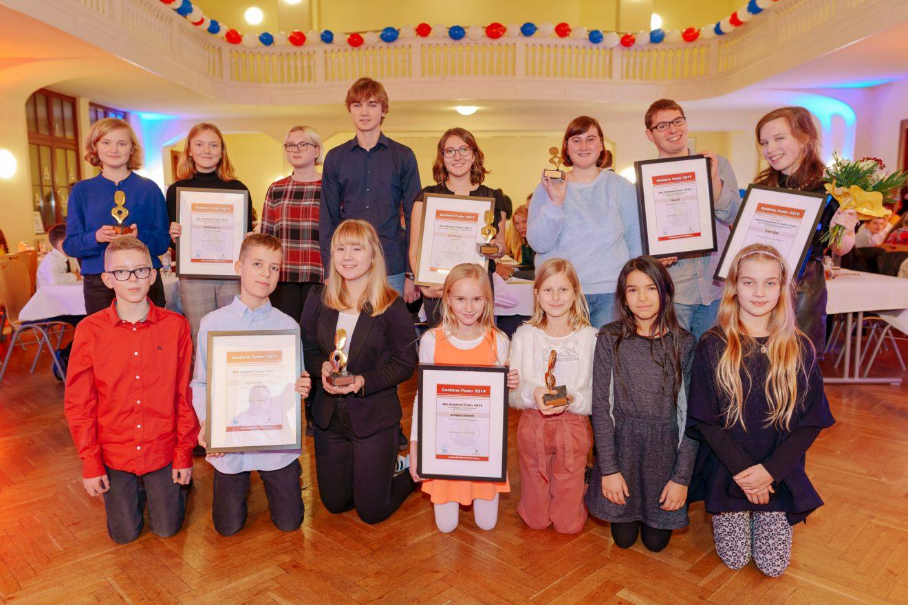 Goldene Feder 2019 in Sachsen-Anhalt verliehen