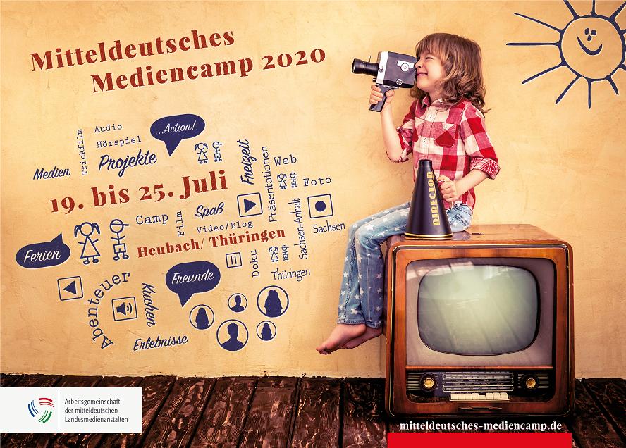 Anmeldestart für das Mitteldeutsche Mediencamp 2020