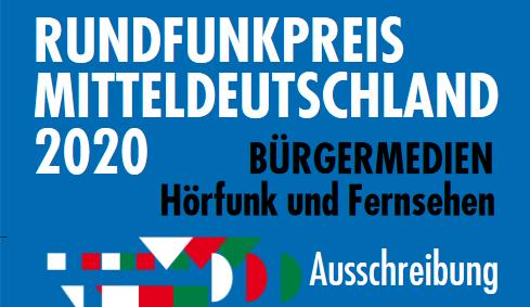 Rundfunkpreis Mitteldeutschland 2020
