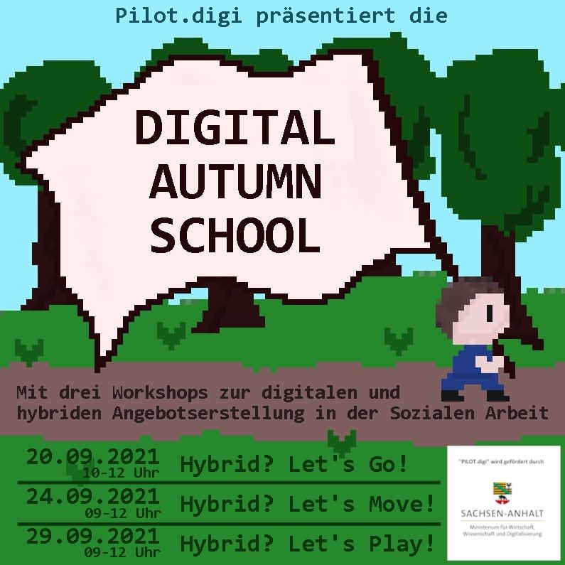 PILOT.digi lädt zur Digital Autumn School ein